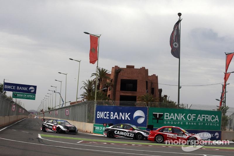 Gianni Morbidelli, Chevrolet Cruze RML TC1, ALL-INKL_COM Munnich Motorsport e Mikhail Kozlovskiy, LA
