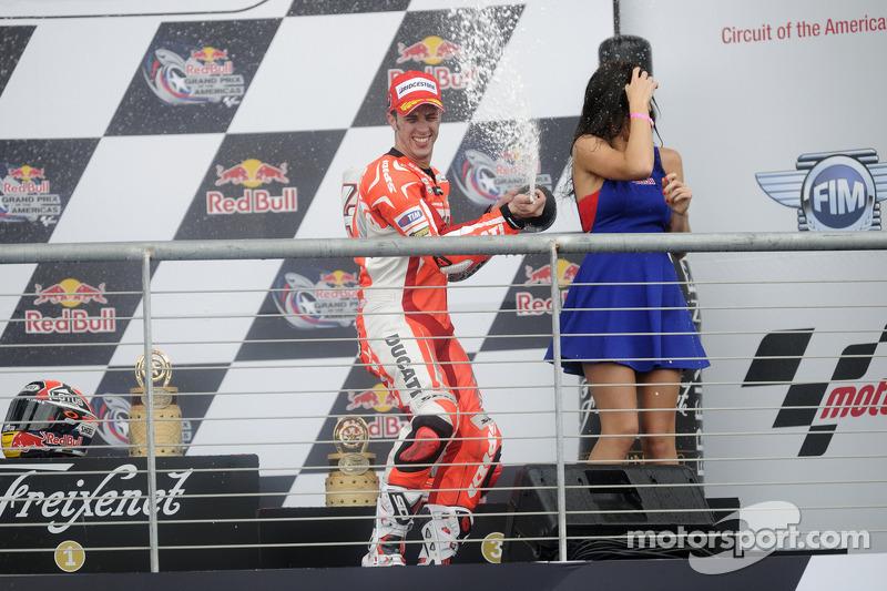 Terzo posto Andrea Dovizioso, Ducati Team
