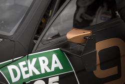 Espejo de Pascal Wehrlein, Mercedes AMG DTM-Team HWA DTM Mercedes AMG C-Coupe