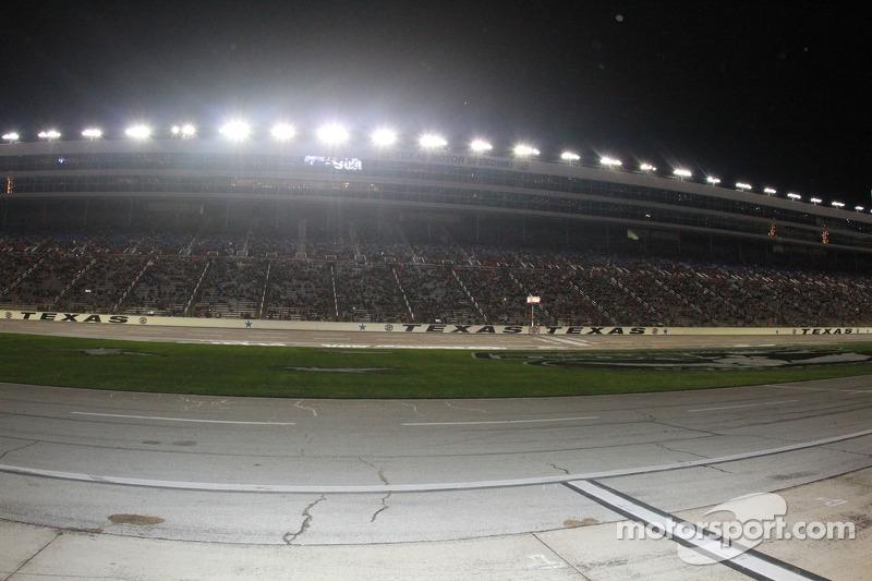Vista del rettilineo del Texas Motor Speedway