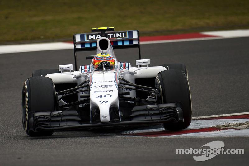 Felipe Nasr, Williams FW36 Test ve Yedek Pilotu