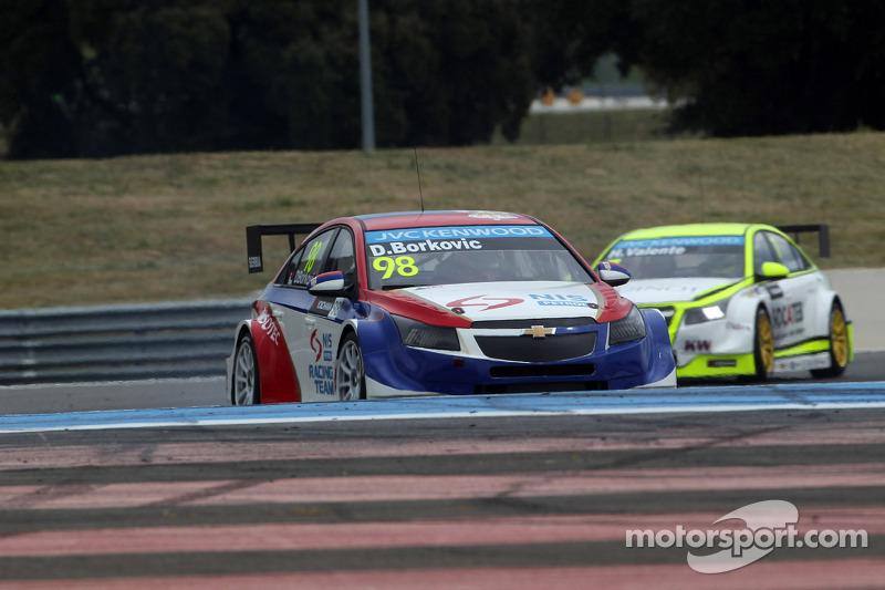 Dusan Borkovic, Chevrolet RML Cruze TC1, NIS Petrol Campos Racing