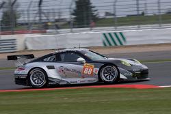 #88 Proton Competition Porsche 911 GT3 RSR: Christian Ried, Klaus Bachler, Khaled Al Qubaisi