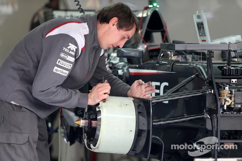 Mechaniker: Sauber F1 Team