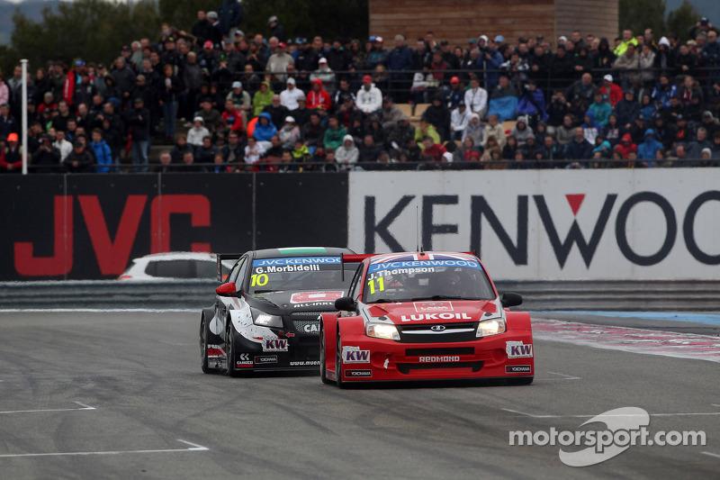 Gianni Morbidelli, Chevrolet RML Cruze TC1, ALL-INKL_COM Munnich Motorsport ve James Thompson, Lada