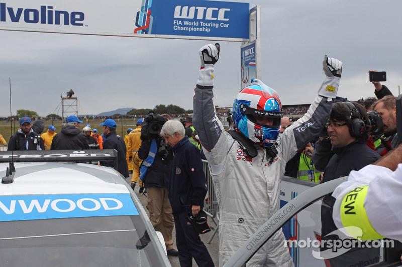 Yvan Muller, Citroën C-Elysee WTCC, Citroën Total WTCC vincitore della gara