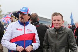 Rob Leupen, Toyota Director Business Operations and Mike Conway