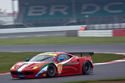 #81 AF Corse Ferrari F458 Italia: Michele Rugolo, Sam Bird, Stephen Wyatt
