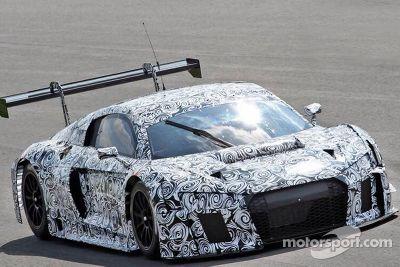 Monza Audi private testing, April