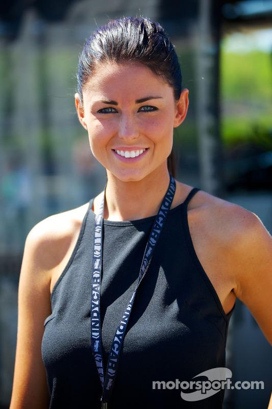 Kristen Dee, namorada de James Hinchcliffe, Andretti Autosport Honda