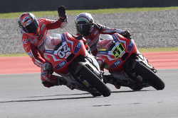 Andrea Dovizioso and Michele Pirro