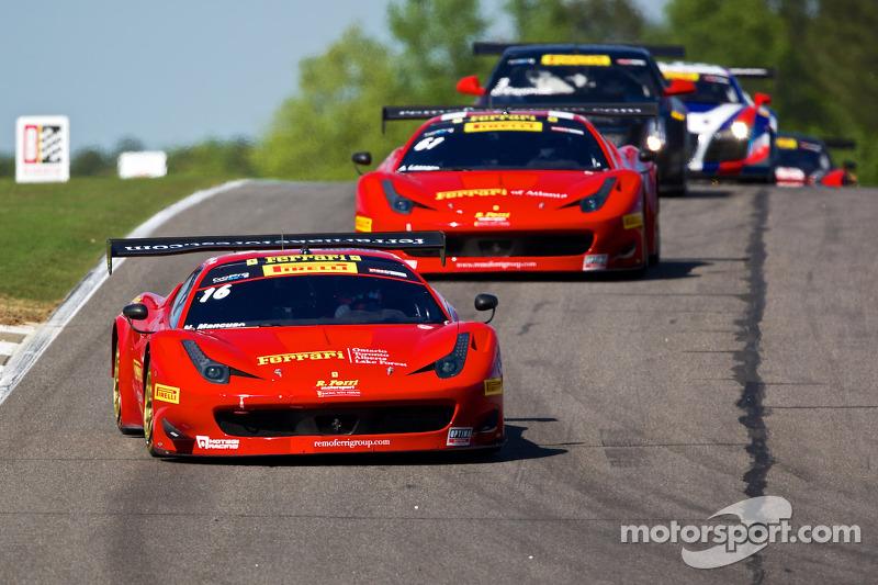 #16 R.Ferri Motorsports/法拉利 458 GT3: 尼克·曼库索