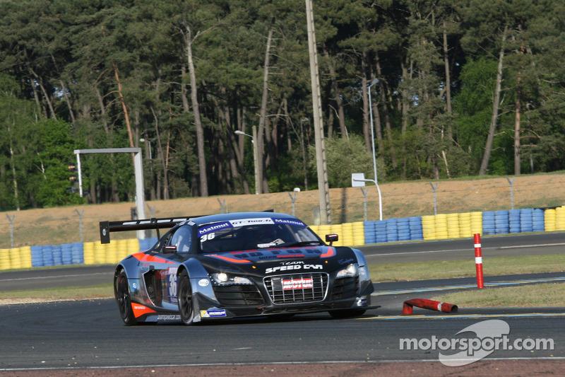 #36 Team Speed Car 奥迪 R8 LMS Ultra: Mathieu Lecuyer, Vincent Abril