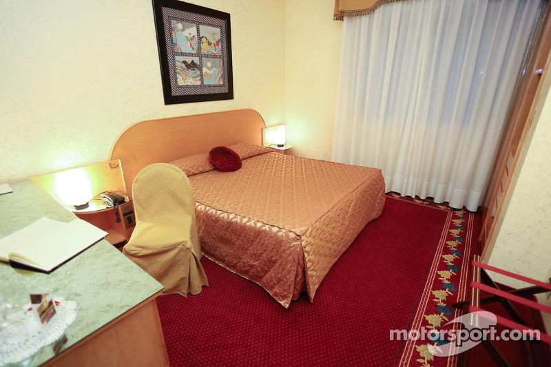 Hotel Castello Suite 200, donde Ayrton Senna se quedó en su última noche