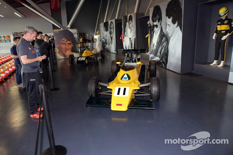 Auto Van Diemen en el Museo Senna