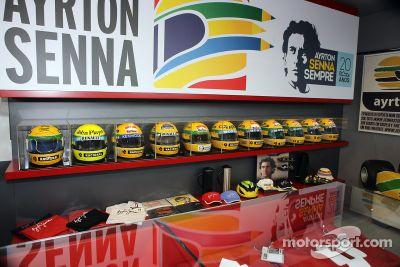 Imola Ayrton Senna eerbetoon