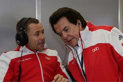 Tom Kristensen and Reinhold Joest