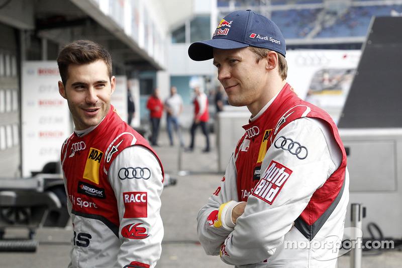 Miguel Molina, Audi Sport Team Abt, Retrato, Mattias Ekstroem (SWE), Audi Sport Team Abt Sportsline, Retrato