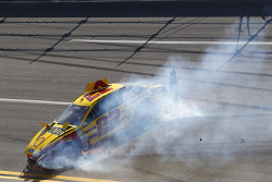 Crash for Joey Logano