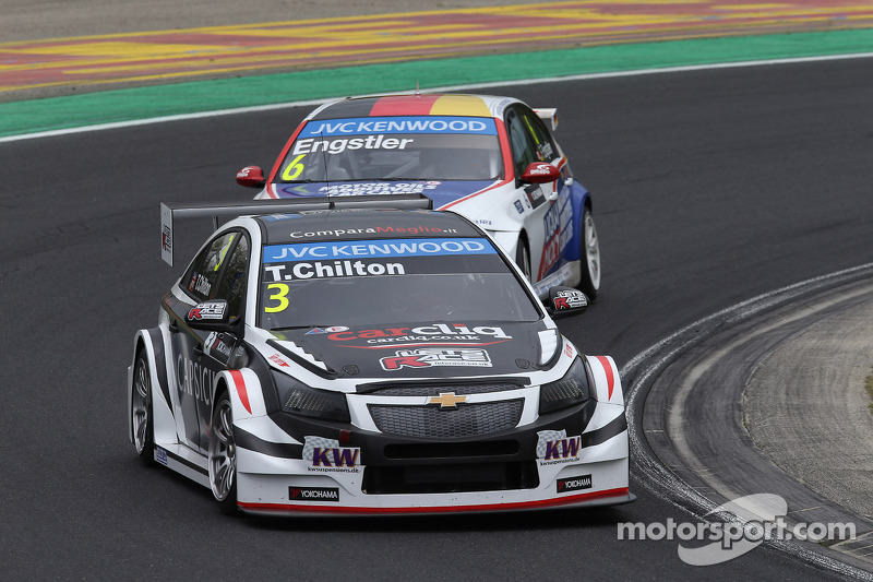 Tom Chilton, Chevrolet Cruze RML TC1, ROAL Motorsport e Franz Engstler, BMW 320 TC, Liqui Moly team