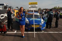 Grid Girl Airwaves Racing
