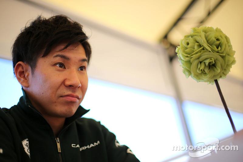 卡特汉姆F1车队的小林可梦伟