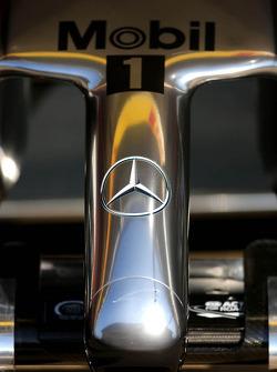 McLaren Mercedes nose