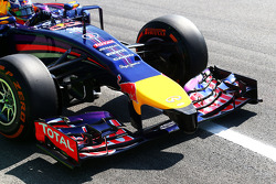 Daniel Ricciardo, Red Bull Racing RB10 ön kanat