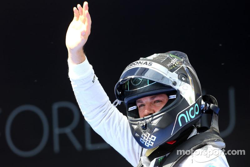 El segundo puesto de clasificación para Nico Rosberg, de Mercedes AMG F1 Team
