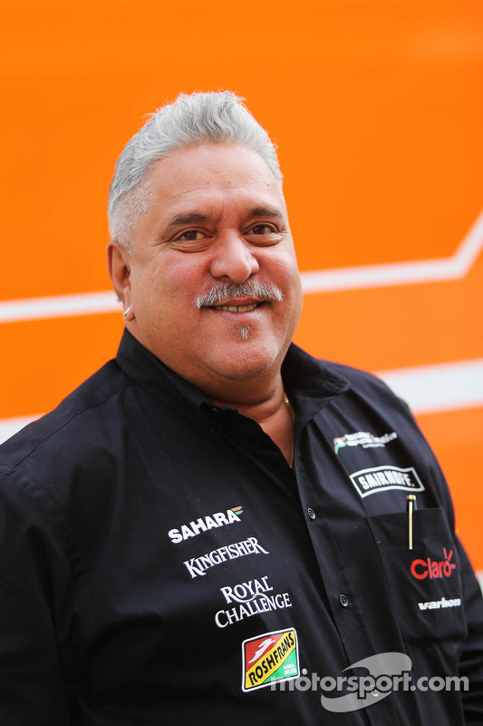 Dr. Vijay Mallya, Sahara Force India F1