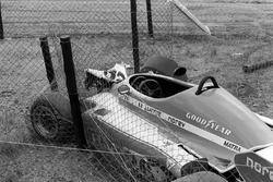 Unfallauto von Jacques Laffite, Ligier JS7