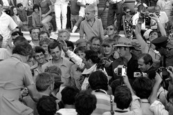 Ganador de la carrera Jack Brabham