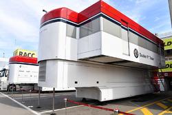 Les camions Alfa Romeo Sauber F1 Team