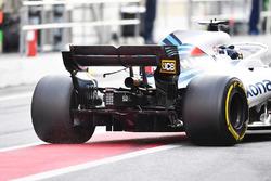 Lance Stroll, Williams FW41 rear