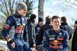 Гонщики Peugeot Sport Total Тимми Хансен и Кевин Хансен