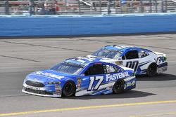 Ricky Stenhouse Jr., Roush Fenway Racing, Ford Fusion Fastenal, Jeffrey Earnhardt, StarCom Racing, Chevrolet Camaro VRX SIMULATORS