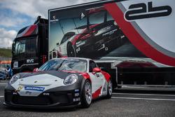 La Porsche 911 GT3 Cup del team AB Racing