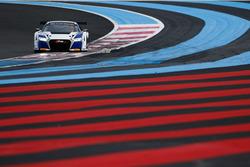 #25 Sainteloc Racing, Audi R8 LMS: Simon Gachet, Christopher Hasse