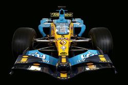 Renault R25 presentación especial