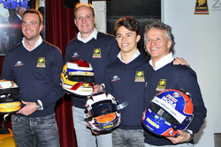 Frits van Eerd, Giedo van der Garde, Jan Lammers y Nyck de Vries, Racing Team Nederland