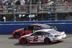 Brad Keselowski, Team Penske, Ford Fusion Wurth, Martin Truex Jr., Furniture Row Racing, Toyota Camry Bass Pro Shops/5-hour ENERGY