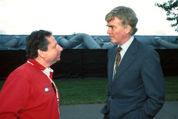 Спортивный директор Ferrari Жан Тодт и президент FIA Макс Мосли