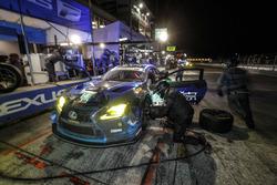#14 3GT Racing Lexus RCF GT3, GTD: Dominik Baumann, Kyle Marcelli, Philipp Frommenwiler, pit stop