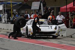 TR3 Racing Ferrari 488 GT3: Wei Lu, Jeff Segal pit stop