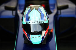 Helmet of Billy Monger, Carlin