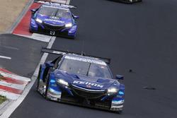 #17 Real Racing Honda NSX-GT: Koudai Tsukakoshi, Takashi Kogure