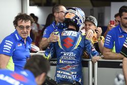 Il terzo classificato Alex Rins, Team Suzuki MotoGP, Rodrigo