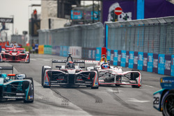 Edoardo Mortara, Venturi Formula E Team, Jose Maria Lopez, Dragon Racing, side by side