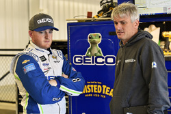 Ty Dillon, Germain Racing, Chevrolet Camaro GEICO and Matt Borland