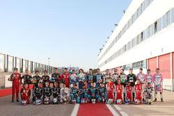 Foto di gruppo dei piloti 2018